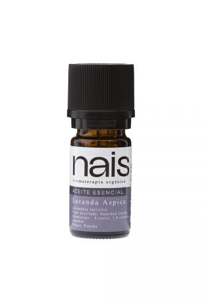 aceite esencial de lavanda aspica nais cosmetica