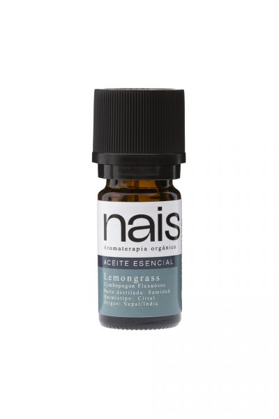 aceite esencial orgánico lemongrass